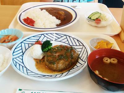 愛知県総合療育センター中央病院の食堂