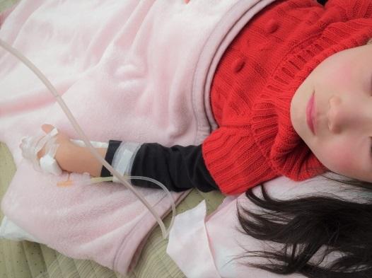 やっと病名がわかりました。毎月1回の熱。周期性発熱・アフタ性口内炎・咽頭炎・リンパ節炎症候群(PFAPA)という病気。