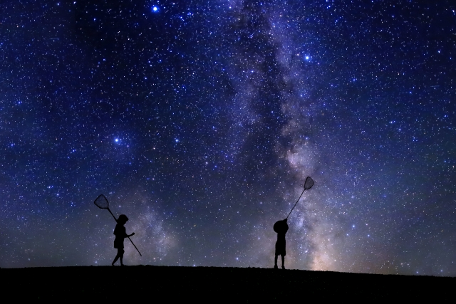 夏休みは子供と田舎を楽しもう!その1 ~特に小学4年生とは夜空の星を楽しむのがおすすめ~
