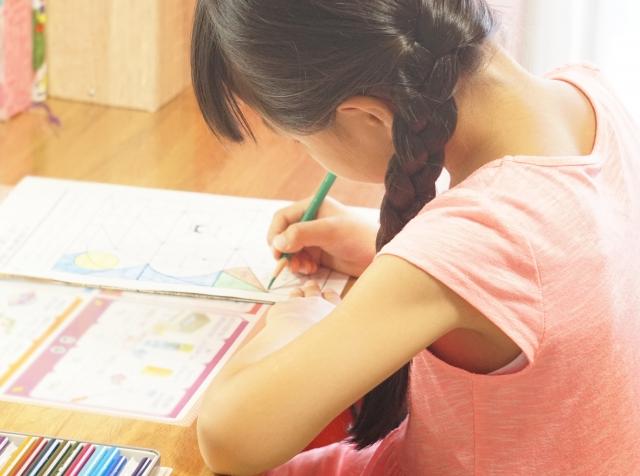 娘の夏休みの宿題がお盆休み中に終わりました~!! でも・・・。