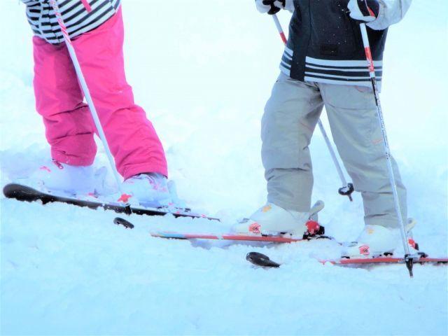 小2娘、2回目のスキー教室へ。前回はあんなにやる気満々だったけど…。