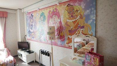 池の平ホテルの『スター☆トゥインクルプリキュア/プリキュアルーム』に泊まってきました!