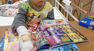肺炎でした。5歳息子の入院生活【後編】