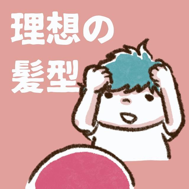 小2男子、理想のヘアスタイルとは?憧れの髪型が斬新すぎ(笑) harusame年の差兄弟育児日記