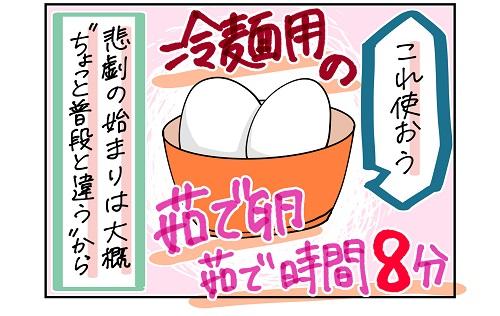 【9ヶ月】卵アレルギー事件簿1|ハスキー母の育児漫画