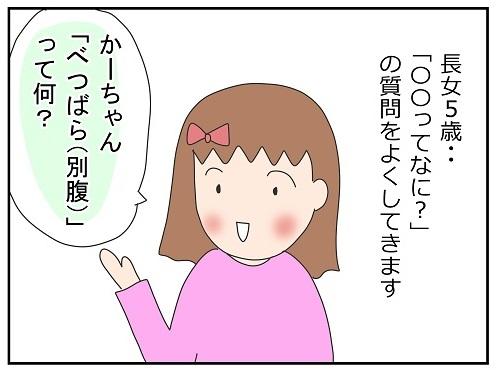 そうじゃなくて~(汗)5歳娘に「例え」はまだ難しいな…。|かわいかあこの育児漫画