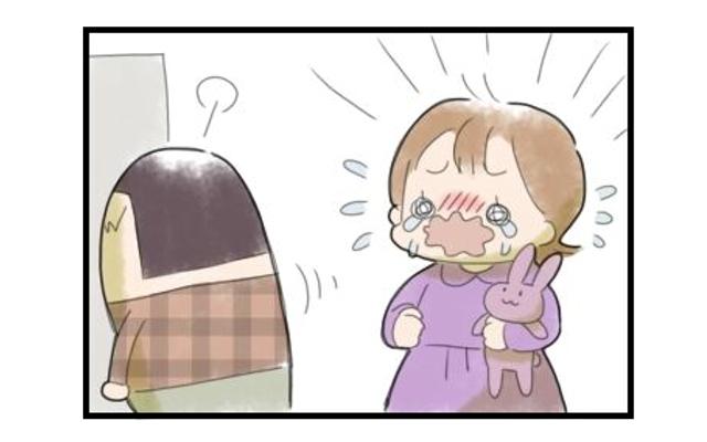 妹を慰める息子の姿に怒りすぎを反省・・・。息子に助けられた出来事|まりおの育児漫画