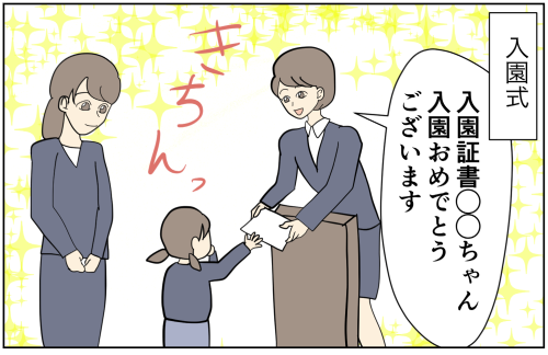 (5)超絶マイペースな息子ときっちり入園式 2歳息子の転園|ぽんぽこむすこの成長絵日記。