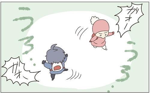 (3)【2歳7ヶ月】小さな恋心 〜追いかけたい〜 ぽんぽこむすこの成長絵日記。