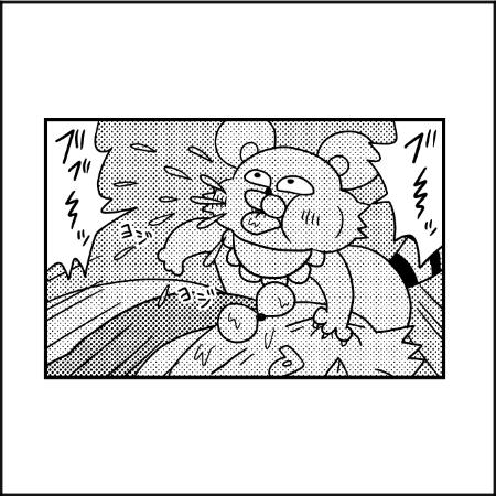 こっちのパワーが…(泣) 9ヶ月児の寝かしつけは体力勝負|ぽこたろー育児漫画