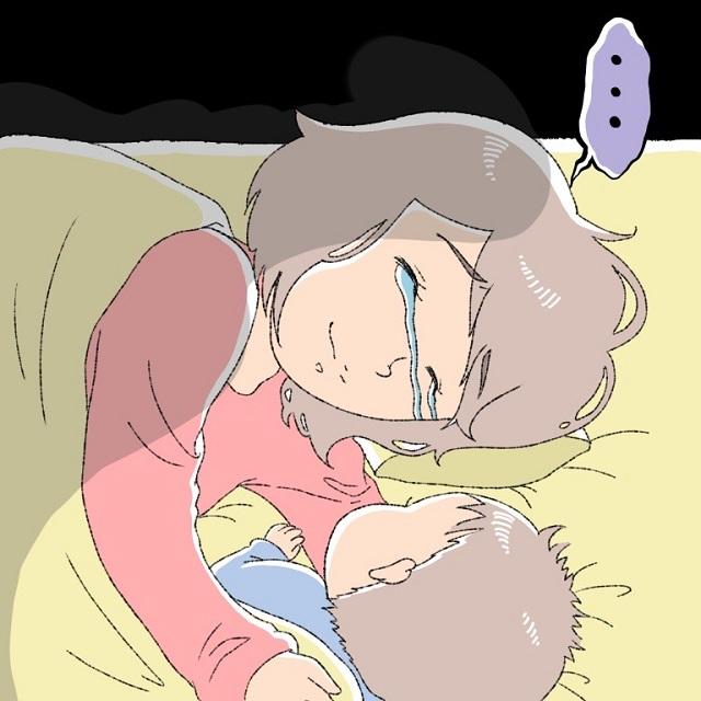 子どもは正直って言うもんね・・・(涙)朝一で心に刺さった息子のひと言|ぽぽママの育児漫画