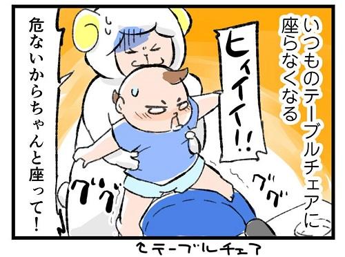 【1】先週と別人レベルじゃん…(汗) 突然やってきた1歳息子のイヤイヤ期|左近寺しゅうりの育児漫画
